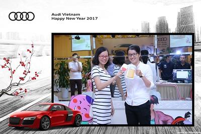 Audi Vietnam New Year Party PhotoBooth