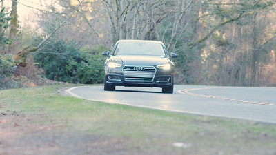 2017 Audi A4 Quattro 2.0T Driving Reel
