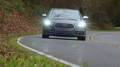 2017 Audi S6 Quattro Driving Shots