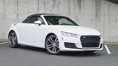 2017 Audi TT Convertible Parked Reel