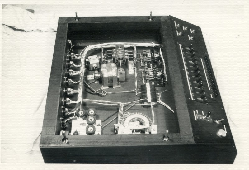Audic 1 - control panel and clock