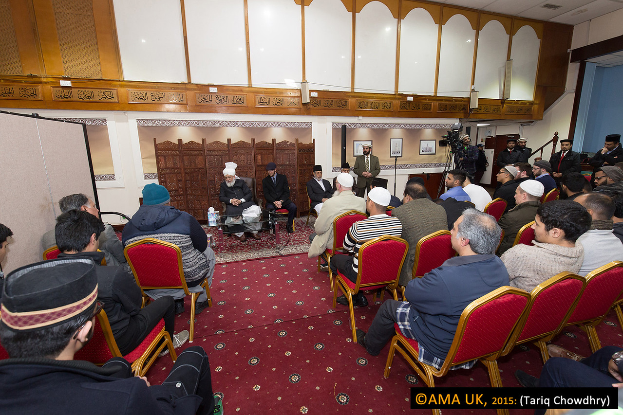 Hudhur also explained that Jama'ats should have regular Taleem classes for all the New Ahmadis so that they can read the Holy Qur'an and perform their prayers properly.