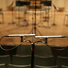 Royer Labs R-122 Studio Ribbon Microphones, placed in a Blumlein configuration<br />  <br /> Images by Martin McKenzie
