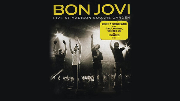 Bon Jovi at Madison Square Gardens live concert DVD - 2008. I was working on the world renowned Sheffield Remote Recording Truck as an A2. Obie Obrien tracked this in our truck!