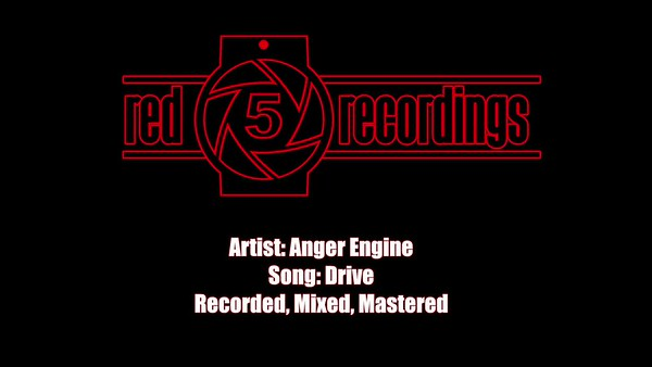Audio Recordings Sample - Anger Engine - Drive