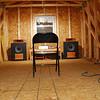 JBL 2226; JBL 3677 cabinets; Bill Martinelli horns; Altec 902; B&C DE250