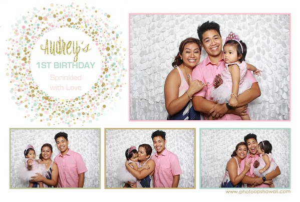 Audrey's 1st Birthday (Fusion Photo Booth)