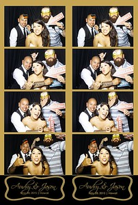 Audry  & Jason Wedding (Stand-Up Photo Booth)