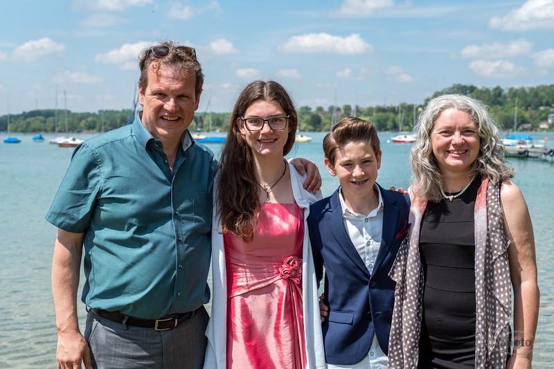Konfirmation von Jakob am 19.05.2019, Kirche in St. Matthäus und Feier im Augustiner am Wörthsee