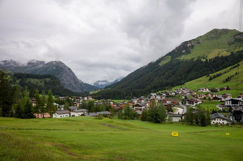 Lech, Vorarlberg, Österreich