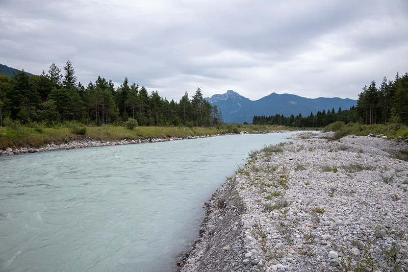 Eindrücke am Weg zwischen Stanzach und Wängle, Vorarlberg, Österreich