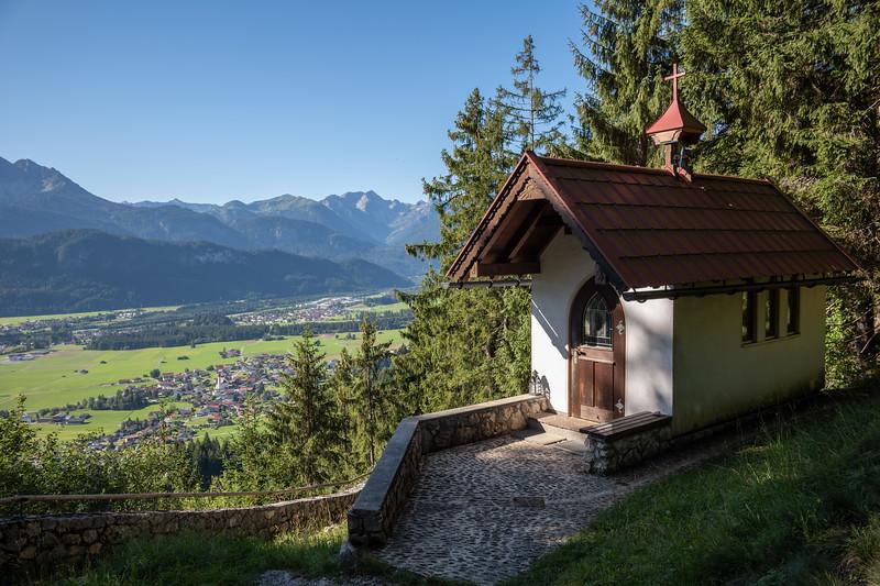 Eindrücke am Weg zwischen Wängle und Füssen im Allgäu, Bayern, Deutschland