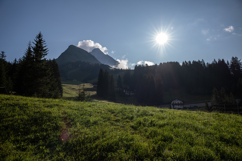 Eindrücke am Weg zwischen Gehren und Holzgau, Vorarlberg, Österreich
