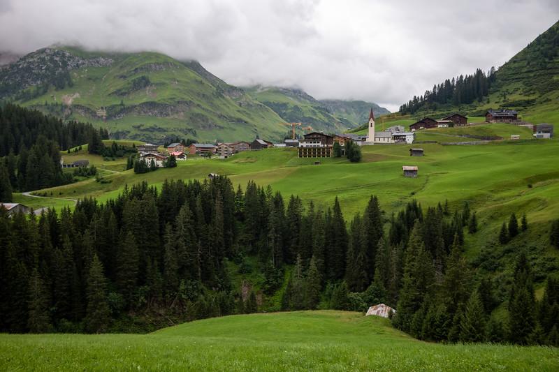 Warth, Vorarlberg, Österreich