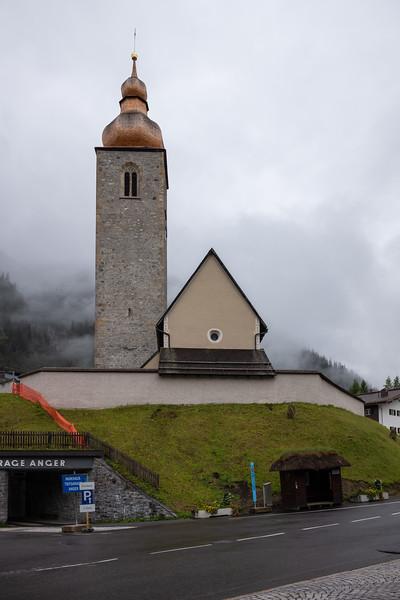 Kirche von Lech, Vorarlberg, Österreich
