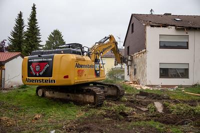 Hausbau der Wohnung in Mering, Theodor-Heuss-Str. 11, Schwaben, Bayern, Deutschland