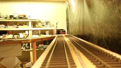 VIDEO - of Tim Fairhall operating his partially completed Black Forest Model Railway