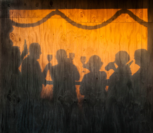 20150401 Kevin, Ash, John, Mary, Lorraine & Pat at sunset, D'Urville _MG_9810 a