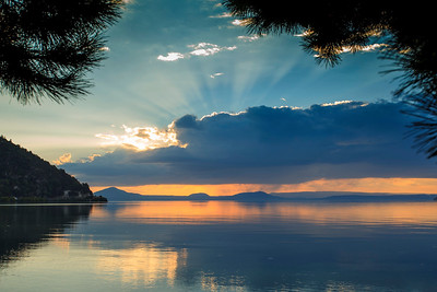20150305 Taupo sunset _MG_9500 a