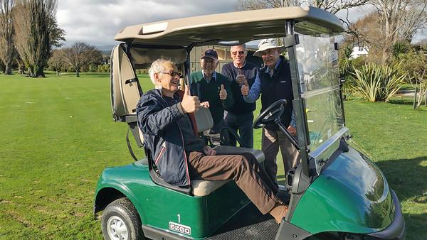 20210628 Ken Lawrence, Bob Moffat, John Vaughan and Rob Thompson at RWGC golf c - Huawei