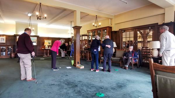 20210816 Janet Mathews and Bob Mini Putting at RWGC Assisted Golf 104