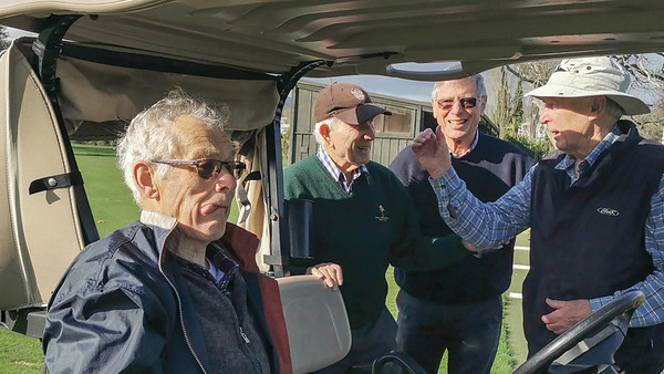 20210628 Ken Lawrence, Bob Moffat, John Vaughan and Rob Thompson at RWGC golf a - Huawei