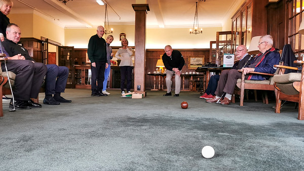 20210816 Rob Thompson bowling at RWGC Assisted Golf 101