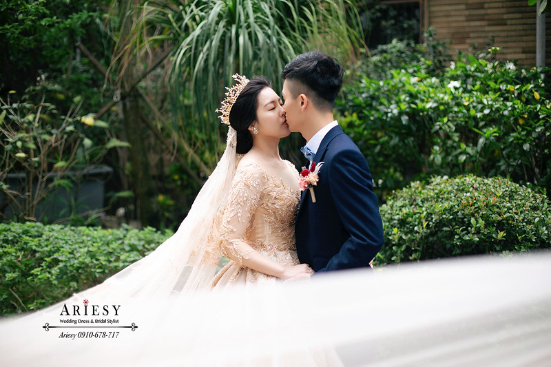 愛瑞思,ariesy,台北新秘,新秘推薦,歐美立體妝容女星,皇冠華麗新娘造型