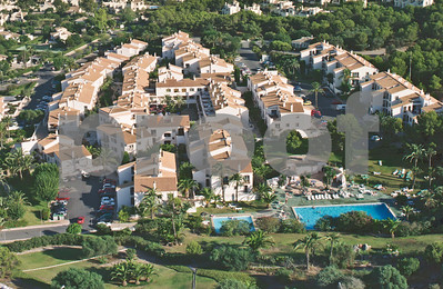 Aerial view of Bellaluz,  La Manga Club, August 28th 1997