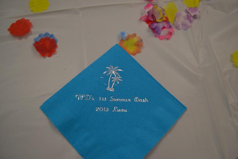 August 2013: Summer Bash - Luau