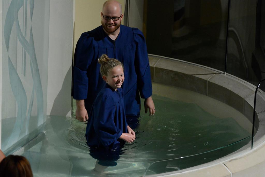 August 2015 Baptisms