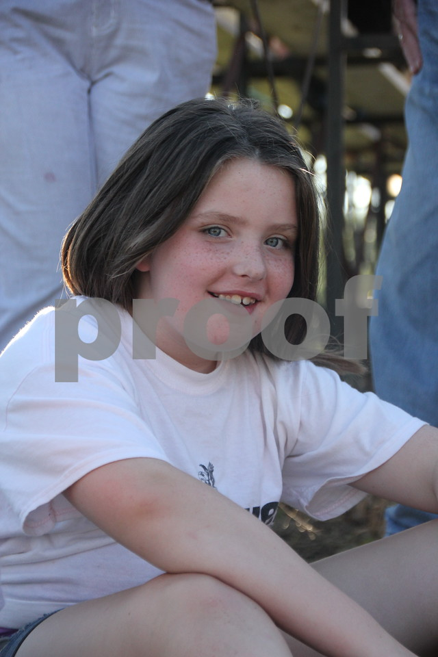 Aleah Brockman and her family came to watch the Gowrie Fire Department  Truck and Tractor Pull  held at the Webster County Fairgrounds on Saturday, August 1, 2015. It was a fund raiser for the new Gowrie Fire Station being built.