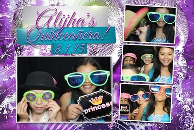Alijha's Quinceañera!