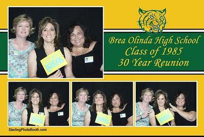 Brea Olinda High School Class of 1985 30 Year Reunion
