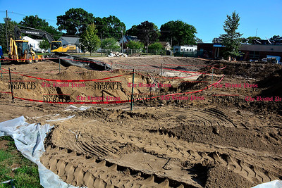 8/4/2016 Mike Orazzi | Staff The Old Linden Street School site in Plainville.