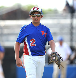 8/9/2016 Mike Orazzi | Staff New Jersey's Anthony Sirico (2) during the Eastern Regional Little League Tournament at Breen Field in Bristol Tuesday.