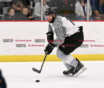 081916  Wesley Bunnell  | Staff  Jake Bolton of the Atlanta Gladiators during Pete Asadourian's 12th annual Pro Hockey Camp Scrimmage which took place on Thursday evening at Newington Arena.
