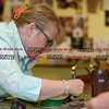 080816  Wesley Bunnell | Staff<br /> <br /> Christine Chabre of Bristol is shown measuring materials in preparation for sewing. Seniors at the Bristol Senior Center are busy making crafts every Monday with the items to be sold at the Senior Center's Craft Fair this October.