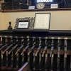 082316  Wesley Bunnell | Staff<br /> <br /> The old ringing console which is no longer in use was connected to the bells in the tower at South Congregational Church by cables and pulleys.