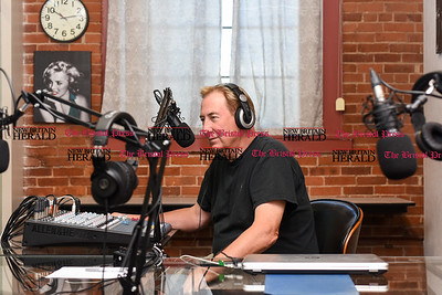 082316  Wesley Bunnell | Staff  Radio personality Sebastian in his studio in New Britain.