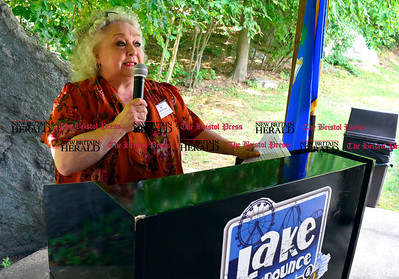8/26/2016 Mike Orazzi | Staff Louise Demars during the 135th Crocodile Club Reunion Dinner held at Lake Compounce Friday afternoon.