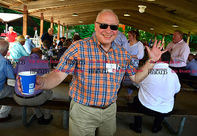 8/26/2016 Mike Orazzi | Staff Harley Graine during the 135th Crocodile Club Reunion Dinner held at Lake Compounce Friday afternoon.