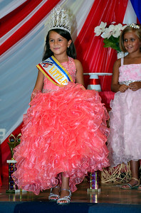 8/20/2016 Mike Orazzi | Staff Natalia Peluso after being crowned 2016 Little Miss Puerto Rico of New Britain during a pageant held at Puerto Rican Society on High Street Saturday.