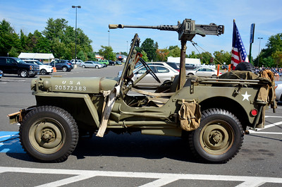 8/25/2016 Mike Orazzi | Staff A classic military Jeep seen in Southington Thursday morning.