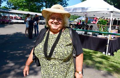 8/27/2016 Mike Orazzi   Staff Yvonne Krosky during Saturday's Dozynki Festival held at Falcon Field in New Britain.