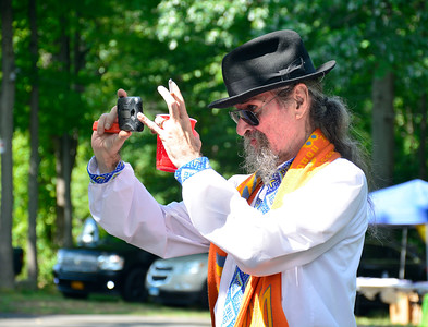 "8/6/2016 Mike Orazzi | Staff Alexander Balaban during the ""POL-UKI"" Polish/Ukrainian Festival held at Falcon Field in New Britain Saturday."