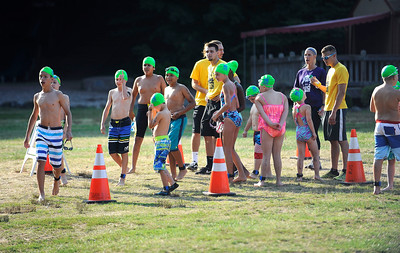 8/6/2016 Mike Orazzi | Staff Participants during the Race4Chase Finale event at YMCA Camp Sloper on Saturday morning.