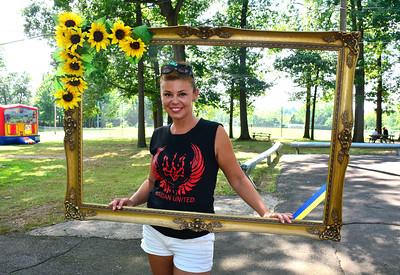 "8/6/2016 Mike Orazzi   Staff Natasha Sazonova during the ""POL-UKI"" Polish/Ukrainian Festival held at Falcon Field in New Britain Saturday."
