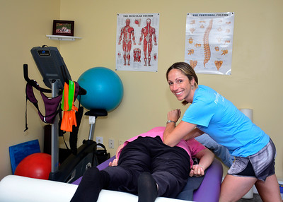 8/12/2016 Mike Orazzi | Staff Stephanie Foresi, owner of Foresi Individualized Training, in Southington.