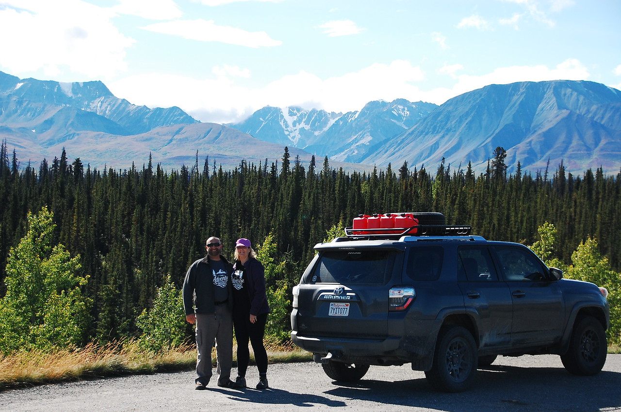 Day 5, Big Creek Yukon to Slana Alaska, 710 miles<br /> <br /> On the Alaska Hwy somewhere in The Yukon.